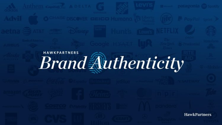 "Pictured: the text of ""Brand Authenticity"""
