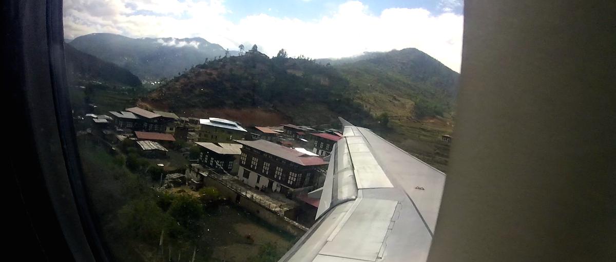 En route to Bhutan, April 2015