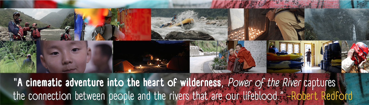 'A cinematic adventure into the heart of wilderness.' -Robert Redford