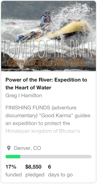 Expedition to the Heart of Water in Bhutan