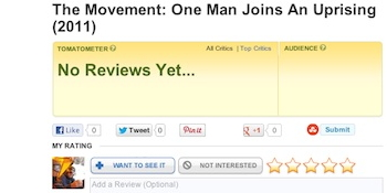 Click to review The Movement on Rotten Tomatoes