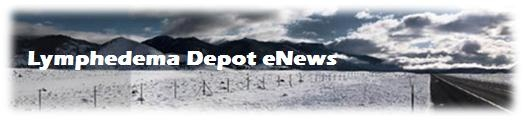 Lymphedema Depot eNews Banner