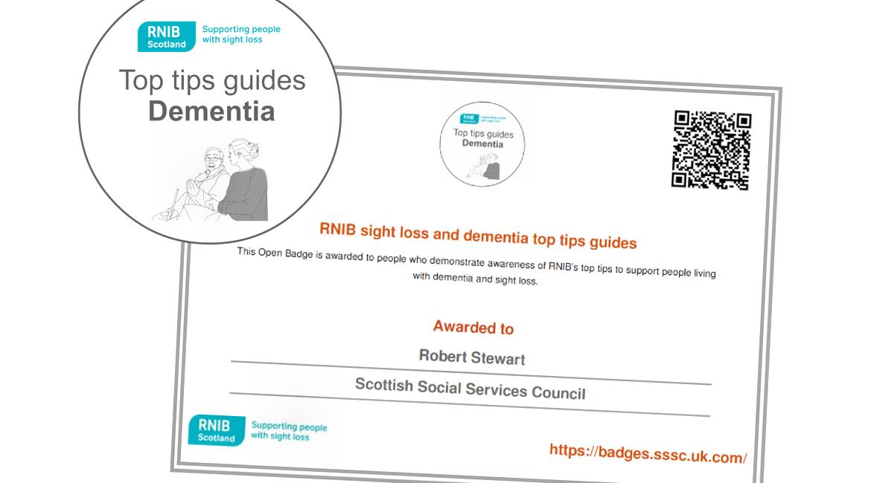 Open Badges from RNIB Scotland