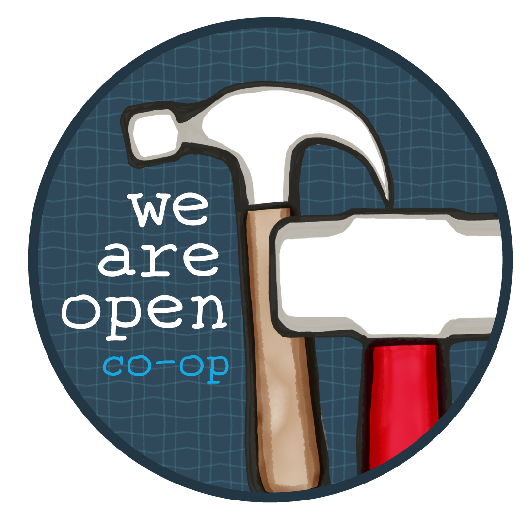 We Are Open Co-op logo
