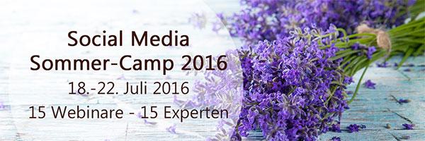 Social Media Sommer Camp 2016