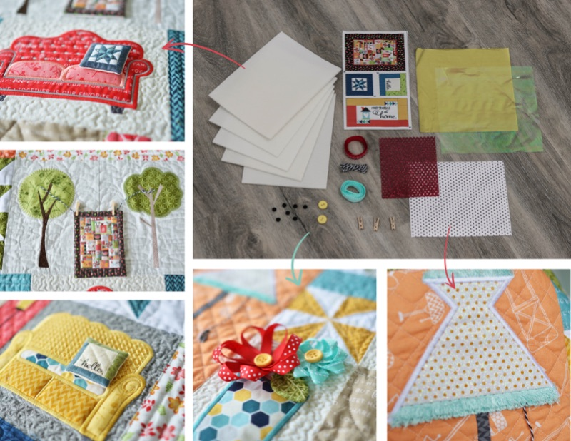 Make Yourself at Home Quilt Embellishment Kit