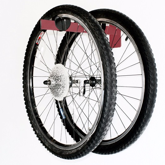 Bike Wheel Storage