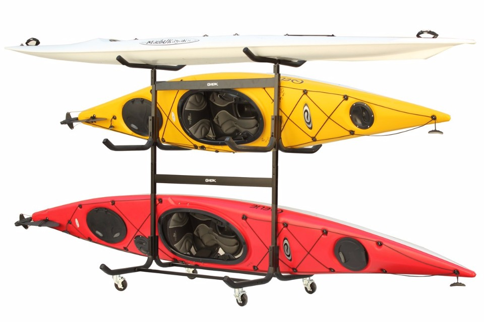 Freestanding 5 Kayak Rack