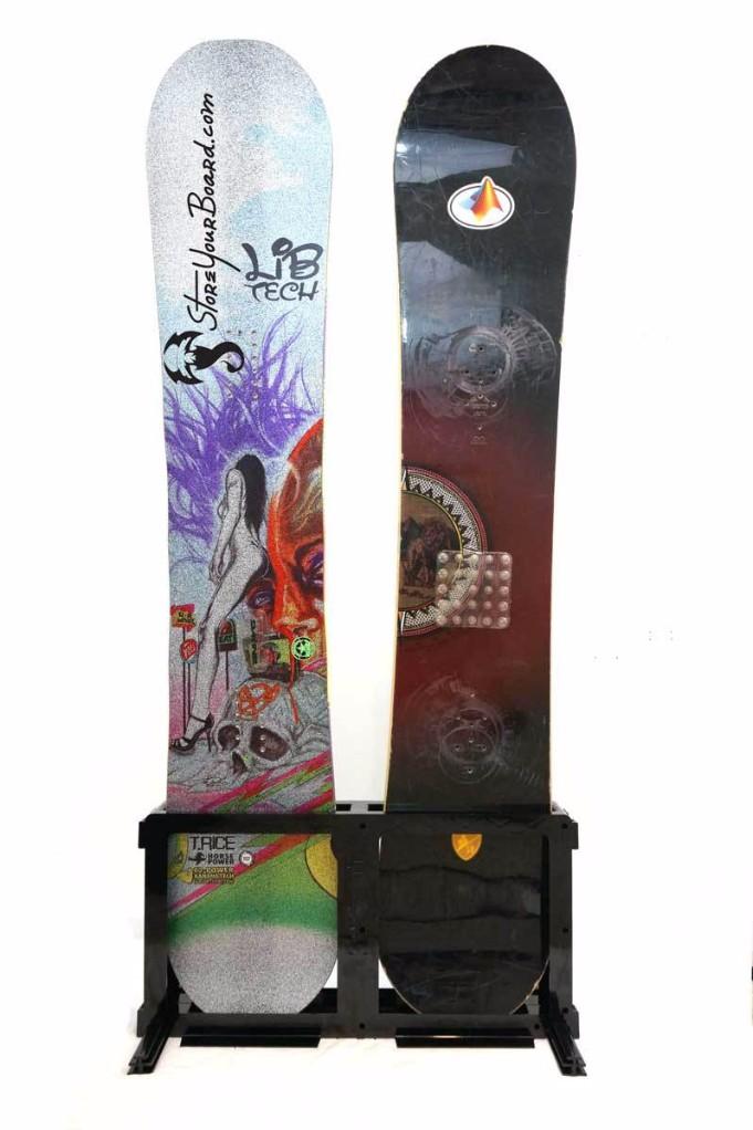 Snowboard Floor Stand