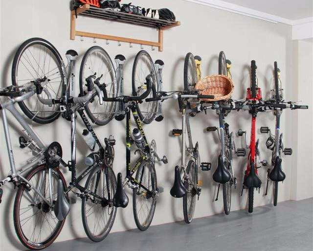 Compact Vertical Bike Rack