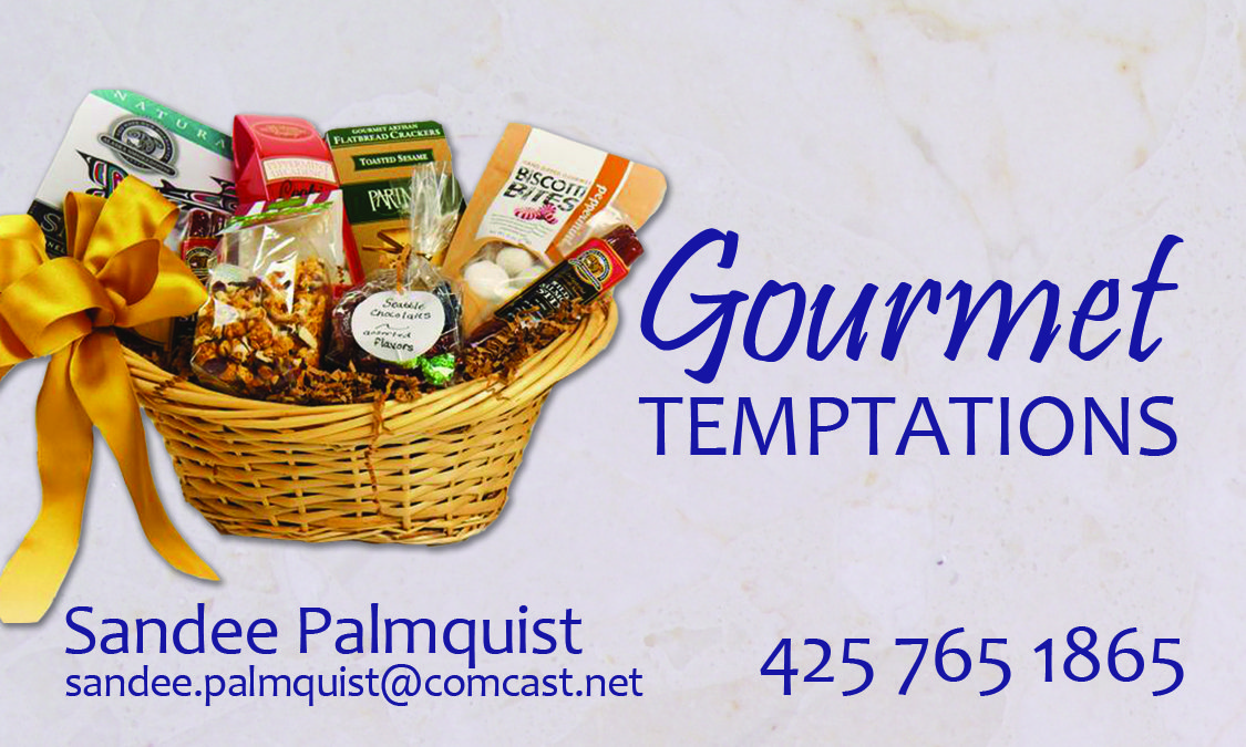Sandee with Gourmet Temptations Gift Baskets