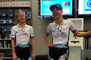 robin farina and tina pic at sorella cycling ride clinic