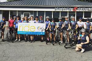 sorella cycling riding clinic with robin farina and tina pic