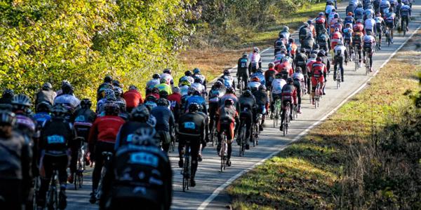 sorella cycling participates in the hincapie gran fondo