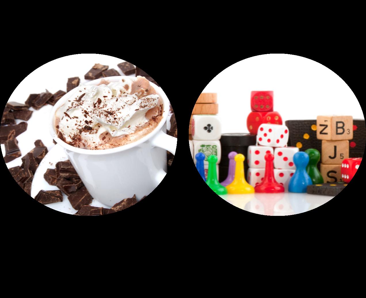 Journée jeux de société & Bar à chocolat chaud