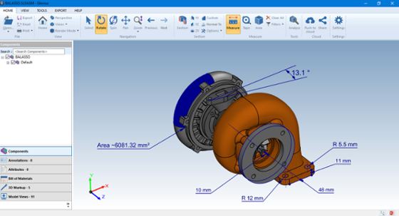Measure CAD models