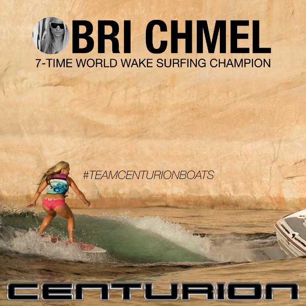Bri Chmel 7-Time World Wake Surfing Champion