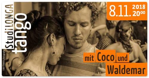 StudiLonga mit Coco &Waldemar, Donnerstag 08. November, 20.00 Uhr