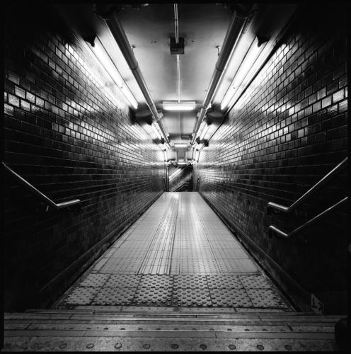 Reflections on Tokyo Subways by Jon Ellis