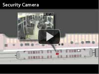 Security Camera video clip
