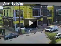 time-lapse video of anvil building construction sequence