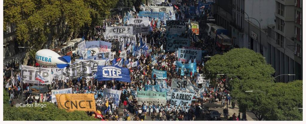 Movilización 29 de                                                abril