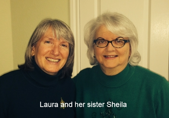 Laura and her sister Sheila