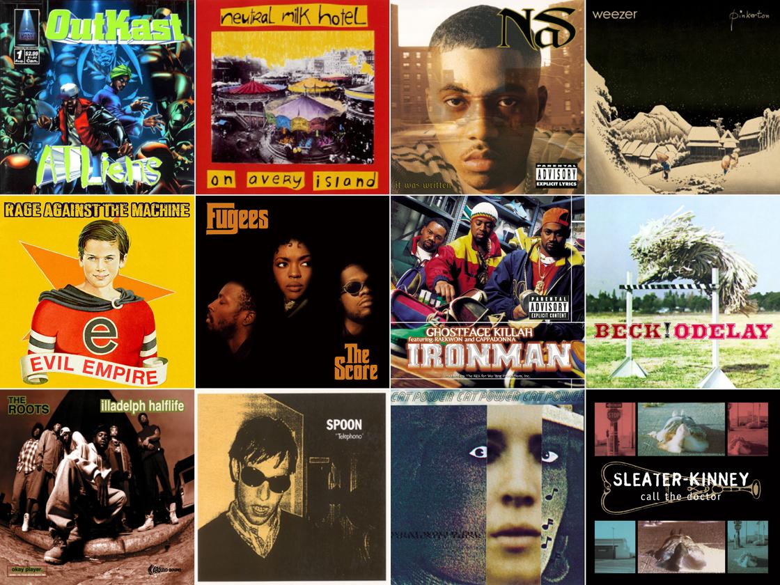 albums of 1996 artwork
