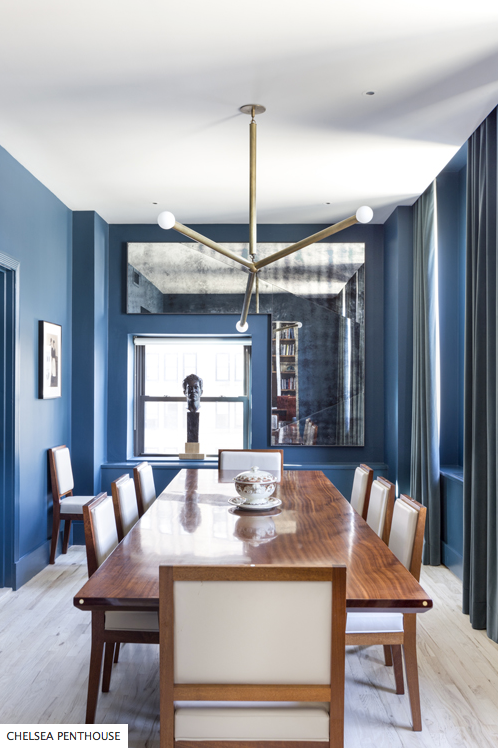 Dining Room by Drew McGukin Interiors