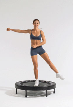 rebounder moves lymph
