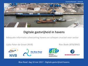 Digitale gastvrijheid in binnenhavens