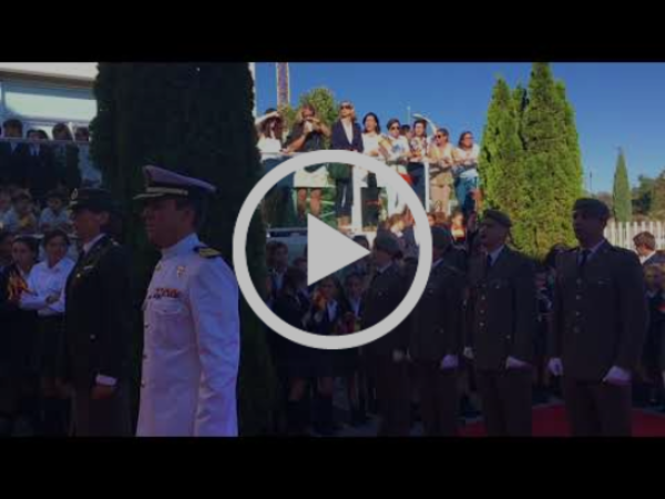 Resumen II Homenaje a la bandera y Ntra. Sra. del Pilar HSLF