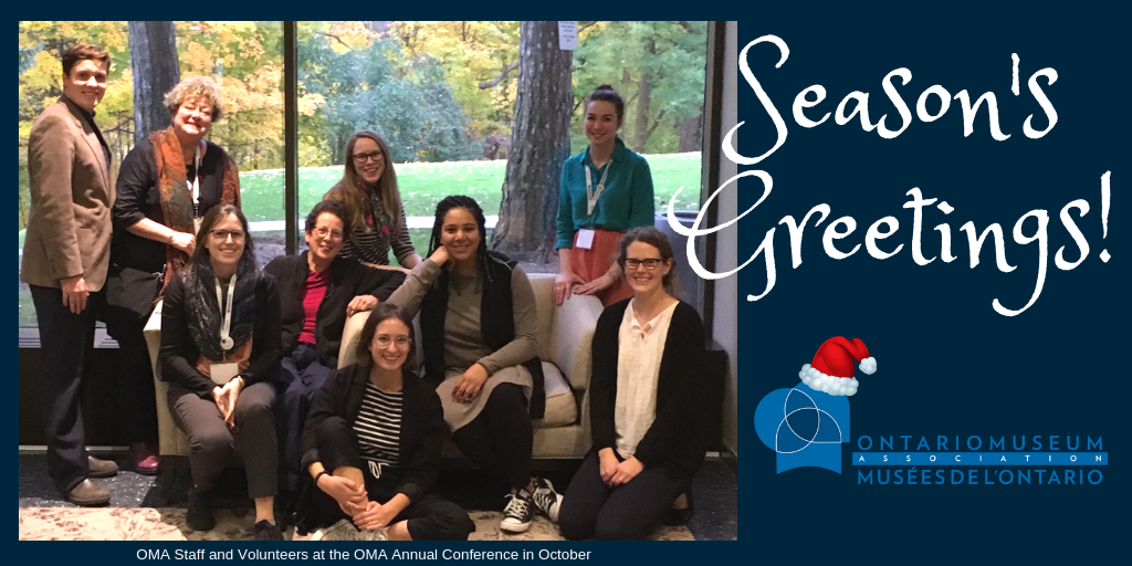 Season's Greetings, OMA Staff and Volunteers at Conference
