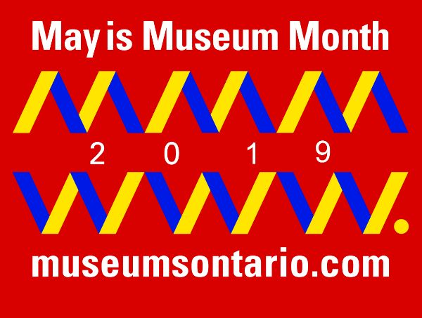 May is Museum Month Wordmark