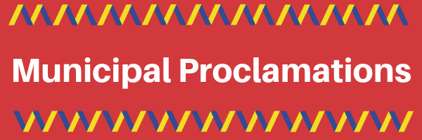 Municipal Proclamations