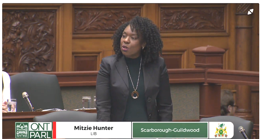 MPP Mitzie Hunter