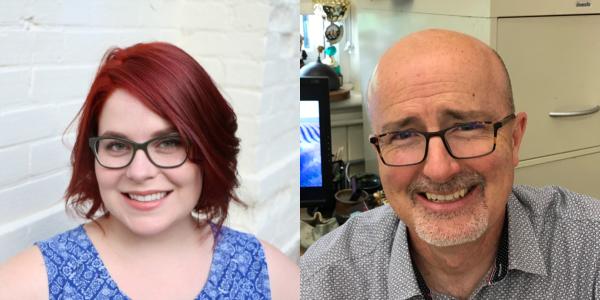 Headshots: Anna Patterson and Robert Bell