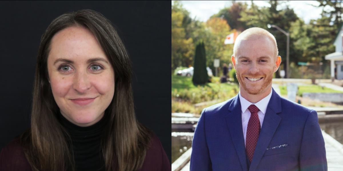 Headshots: Gabrielle Major and Chris Selman