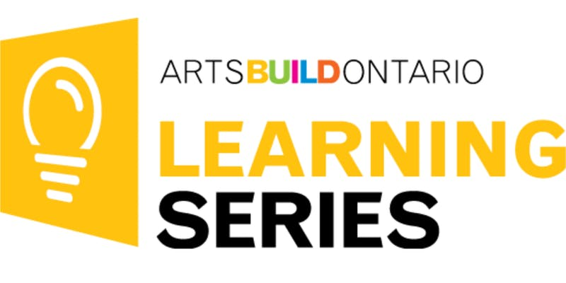 ArtsBuildOntario Learning Series logo