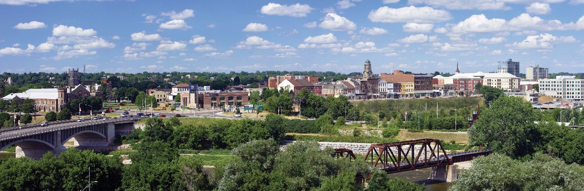 Panorama of downtown Brantford