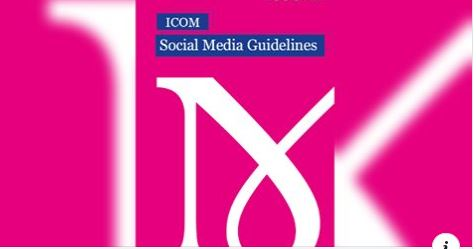 Cover of ICOM Social Media Guidelines