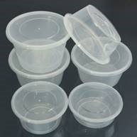 RE is in need of small clear plastic containers (no lids needed).
