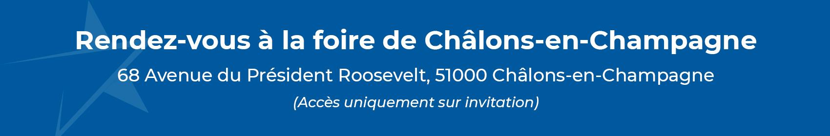 Rendez-vous à la foire de Châlons-en-Champagne
