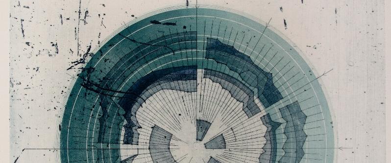 Photopolymer etching by Liz Miller
