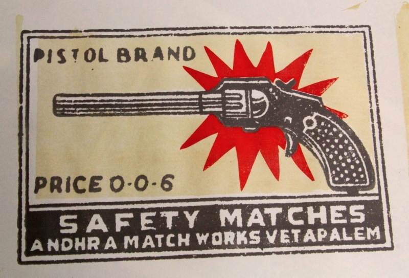 Pistol Matches screenprint