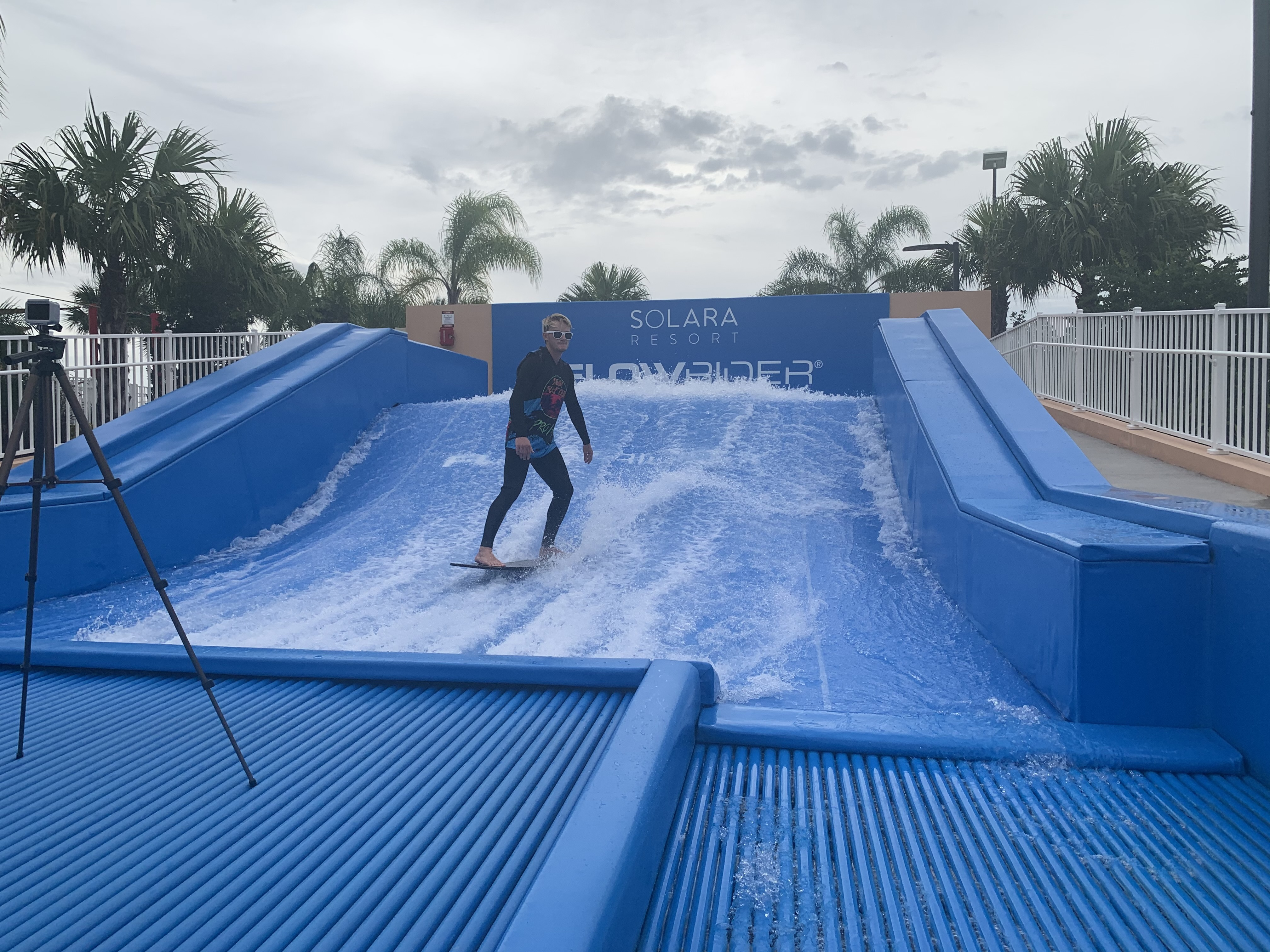 Joel Stevens on the FlowRider