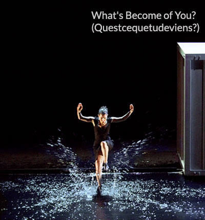 Woman dancing in water - (photo from What's Become of You show)