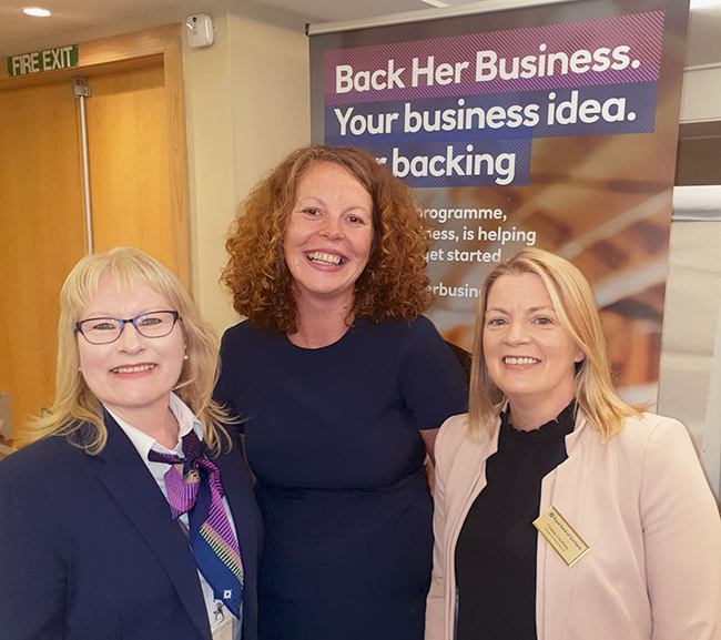 Entrepreneurial Skills and Back Her Business event