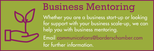 Business mentoring from the Scottish Borders Chamber of Commerce