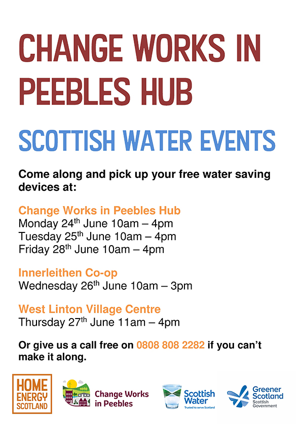 Scottish Water events at Change Works in Peebles